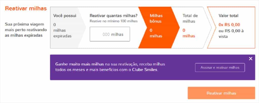 Resgatar Milhas Multiplus